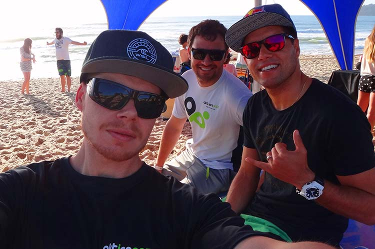 Rafael Krentz, Alison Paz e Adriano de Souza no Red Bull Local Hero Surf Tour Campeche 2016
